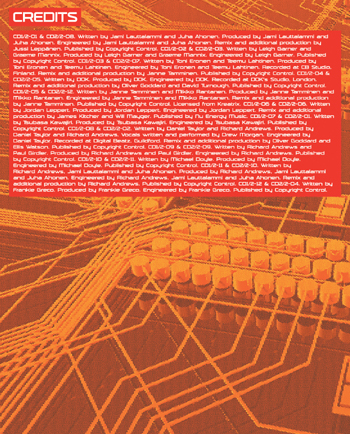 Electronica Exposed EECD063 - Insert Inside Left