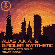 ALIASAKAS023 - Alias A.K.A. & Girdler Synthetic 'Journey Into Night' / 'Trace Decay'